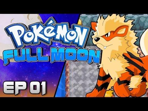 Pokemon Full Moon 🌙 (Fan Game) Part 1 BEST STARTER! Gameplay Walkthrough