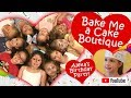 BAKE ME A CAKE BOUTIQUE / CAKE DECORATING / BIRTHDAY PARTY IDEAS / BIRTHDAY PARTIES