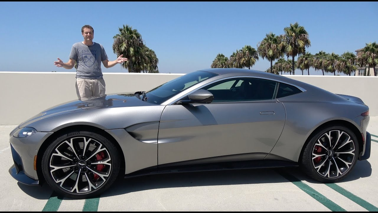 The 2019 Aston Martin Vantage Is A 185 000 True Sports Car Youtube
