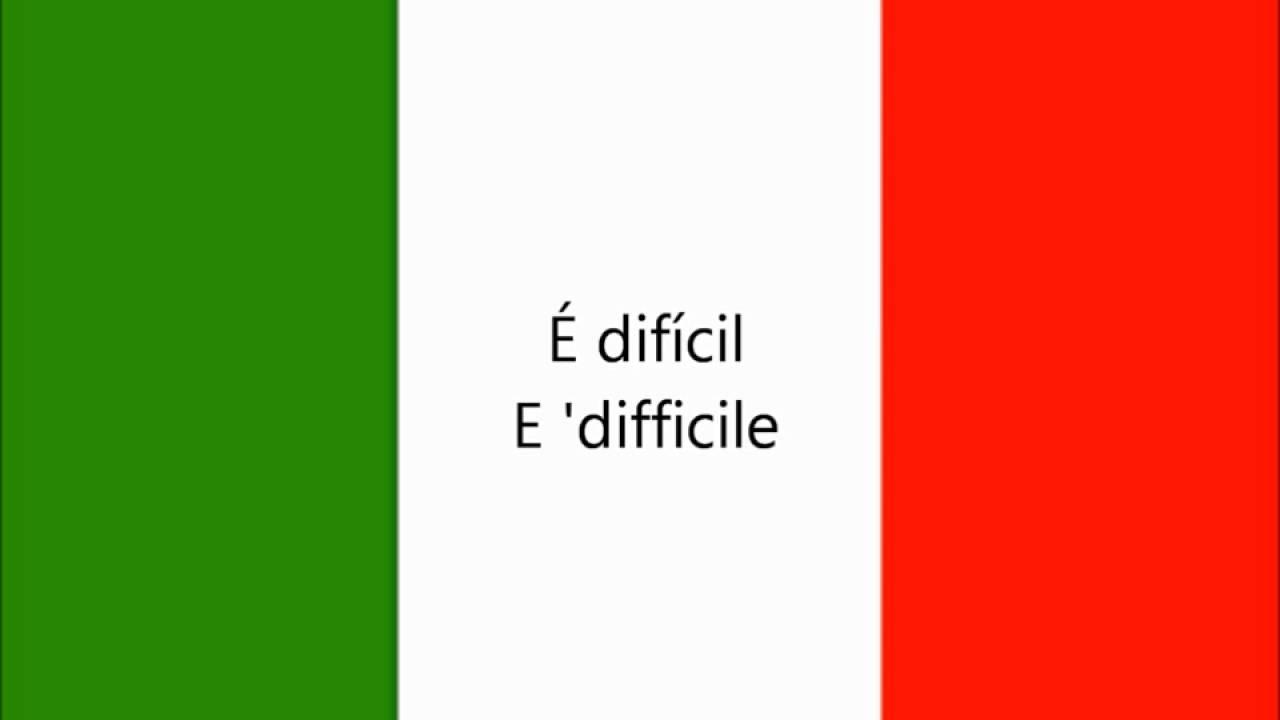 500 Frases Em Italiano Para Iniciantes Youtube