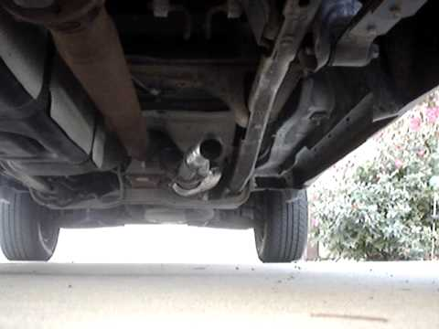 Ford Ranger 3.0 cut off Exhaust. - YouTube