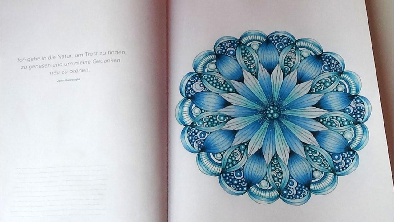 Malen für Seele Mandalas Valentina Harper Buchvorstellung Flip Through