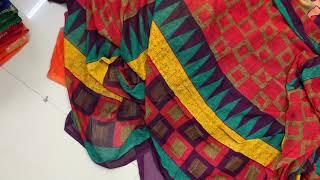 New Georgette Printed Saree From Saree Manufacturer Surat Vivera International