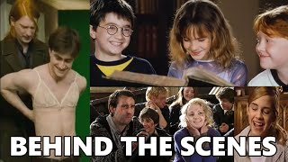 Funny and cute bloopers of Harry Potter movies Part-4 || BEHIND THE SCENES