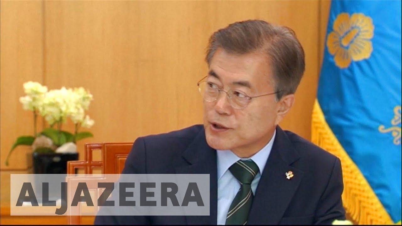 S Korea's Moon heads to US to meet Trump