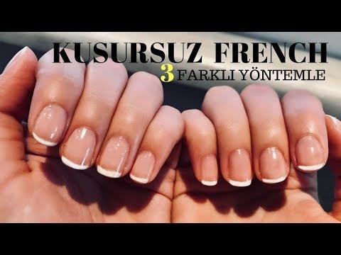 Pratik Kusursuz French Oje Sürme Taktiklerim | French Manicure