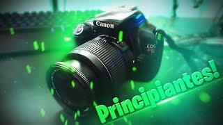 La mejor Cámara profesional para comenzar! Canon EOS Rebel T3 La más barata!