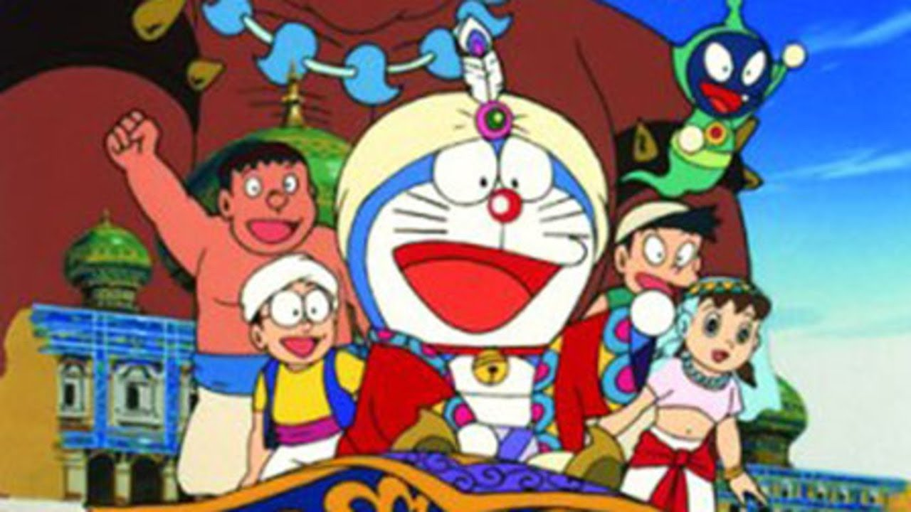 Watch Doraemon the Movie Nobita s Dorabian Nights English Subbed in HD on