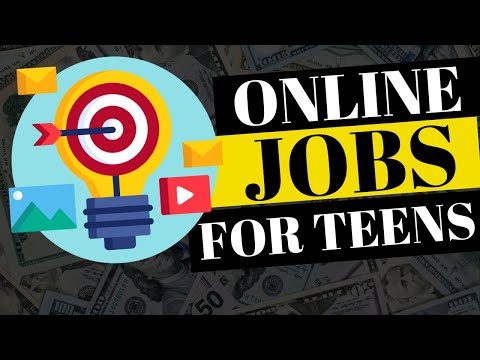 9 BEST ONLINE JOBS FOR TEENS THAT PAY WELL