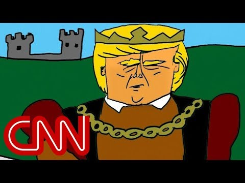 Trump and medieval ideas | Drawn by Jake Tapper