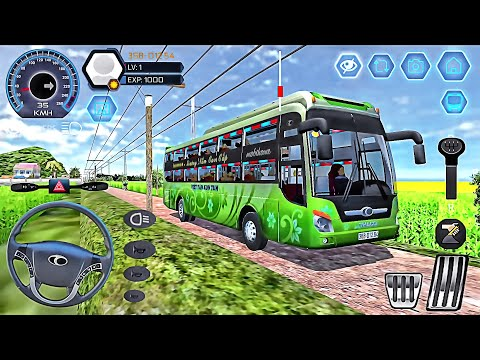 Bus Simulator Vietnam 2020 - Mobile Bus Transporter Driver - Best Android GamePlay