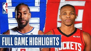 CLIPPERS at ROCKETS | FULL GAME HIGHLIGHTS | March 5, 2020
