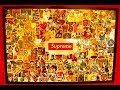FREE SUPREME STICKERS FRAMED WALL ART!
