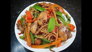 CHICKEN CHOW MEIN DONE RIGHT. #Chowmein #Chickenchowmein #Easymeal #Easymeals #Quickmeals