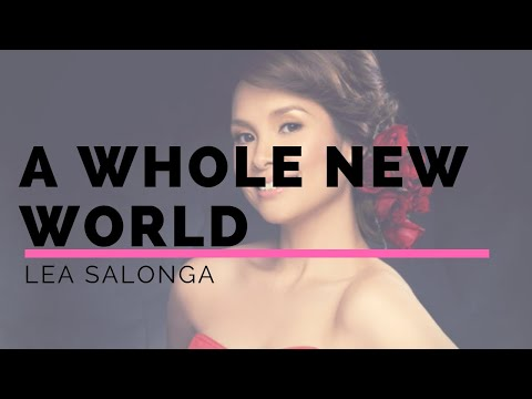 A whole new world lyrics- Lea Salonga and Brad Kene