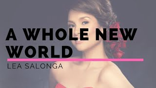 Video A whole new world lyrics- Lea Salonga and Brad Kene download MP3, 3GP, MP4, WEBM, AVI, FLV Agustus 2018