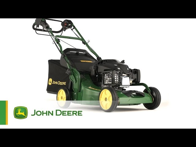 Il Tosaerba a benzina JX90 John Deere - Dotato di cambio a velocità variabile!