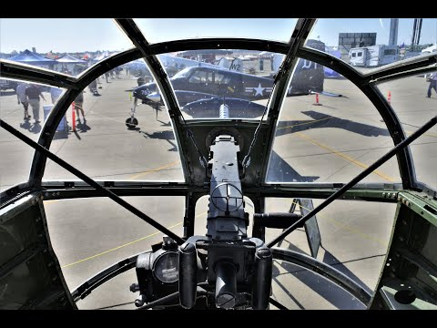 "PBJ-1J (B-25) Mitchell ""Semper Fi"" VR180 - Nose Turret (機首銃座)"