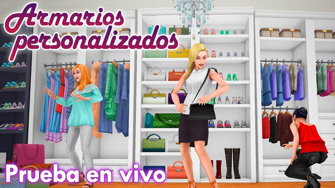 Sims freeplay prueba en vivo armarios personalizados - Armarios personalizados ...