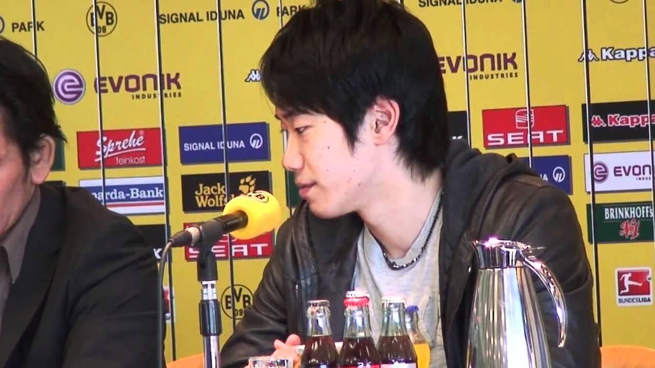 Shinji Kagawa BVB 09-Pressekonferenz - Shinji is back