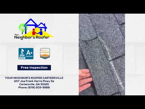 August 5, 2018 - Wyatt Performs a Roof Inspection in Cartersville, Georgia