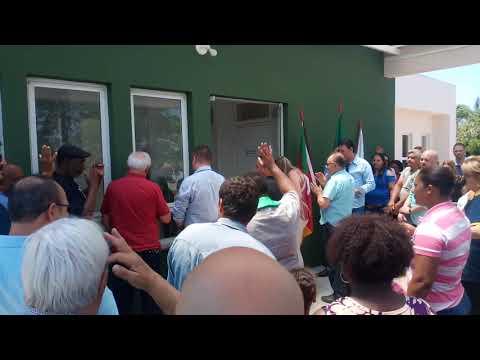 Inauguração do Posto de Saúde em São Miguel Velho / Restinga Seca RS