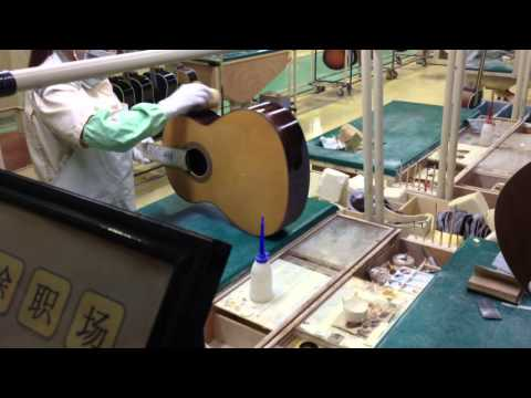 Yamaha Guitar Factory Tour, Hangzhou  China