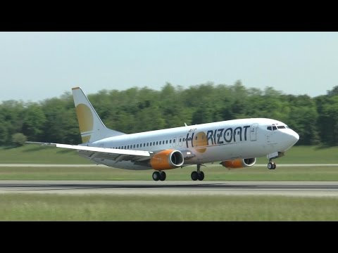 [HD] Europa League 2016 charter flights at Basel Airport (wi