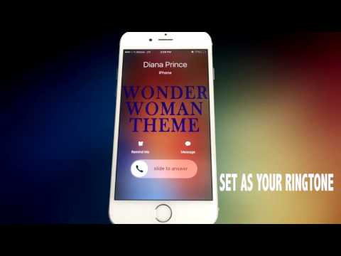 Wonder Woman Theme Ringtone | Batman v Superman Dawn of Justice| Is She With You?