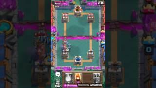 Dancing king(lag)-clash royale
