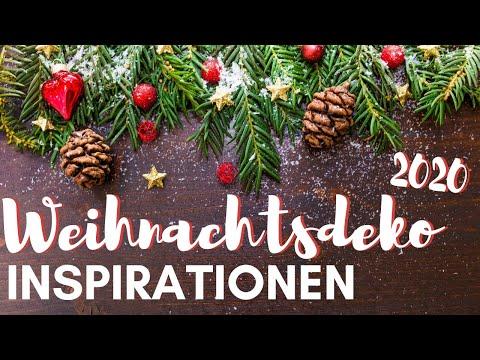 Weihnachtsdekoration Inspirationsvideo Youtube