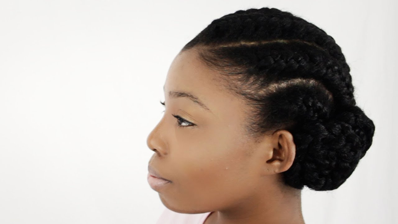 How To Do Goddess Braids With Weave Extensions On Natural Hair