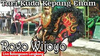 Jaranan Joss !!--Kuda Kepang Salto Jumpalitan Rogo Wijoyo  Live Balongasem Lengkong--SERU !