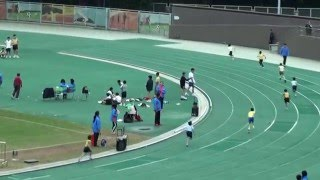 2015年學界九北小學校際田徑比賽 男丙 4 X 100M