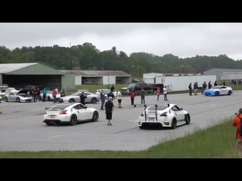 SOHO Motorsports 370Z turbo vs Fast Intentions 370Z turbo in 4K