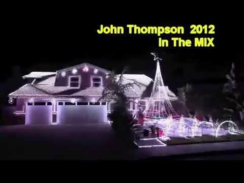 Led Christmas Lights On House.Christmas Led Lights House Display Promo 2012 By John Thompson 2012