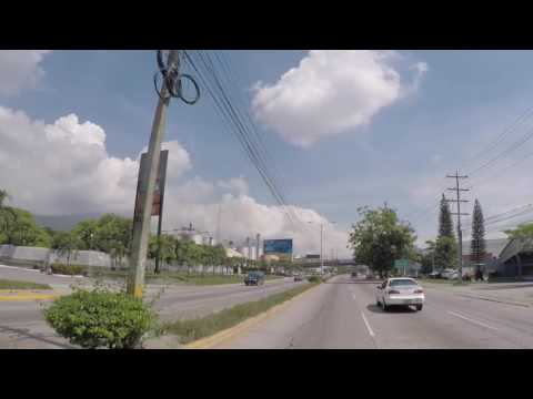 Honduras Entrée dans San Pedro de Sula, Gopro / Honduras San Pedro de Sula, Gopro