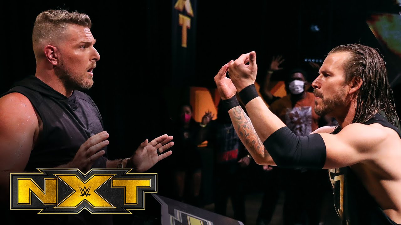 Adam Cole and Pat McAfee's chaotic confrontation: WWE NXT, Aug. 5 ...
