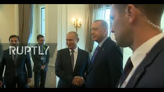 REFEED: Putin and Erdogan hold bilateral meeting