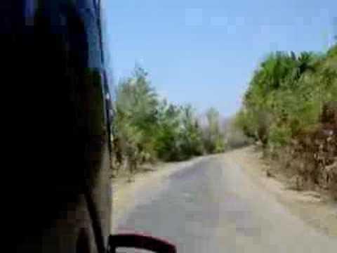 Approaching West Timor - East Timor border