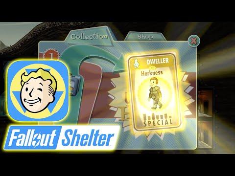 Fallout: Shelter - Super Rare Harkness Dweller Card!! [Fallout Shelter Gameplay HD]