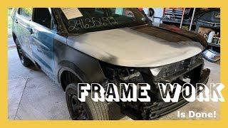 Rebuilding A Wrecked 2017 Ford Police Interceptor Utility -- Part 5