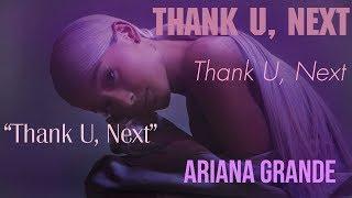 Baixar [Vietsub] thank u, next - Ariana Grande
