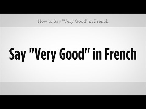 How to say you look good today in french