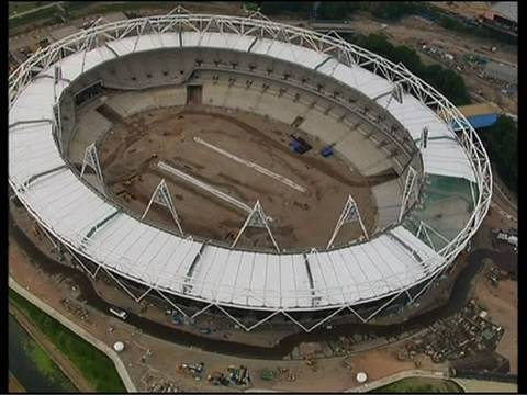 Visit London Olympic Stadium IOC President Jacques Rogge