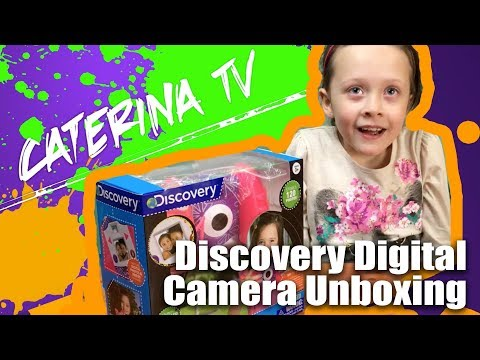 AWESOME! Discovery Digital Camera Unboxing and Toy Review