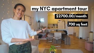 My NYC Apartment Tour! (2019)