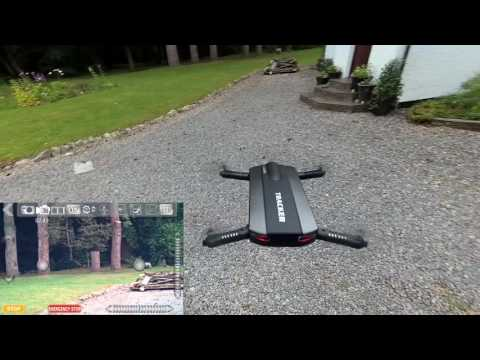 JXD 523 Tracker Folding Selfie Drone Quad, WiFi App control, Altitude hold review