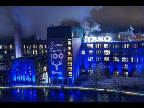 Suomi Finland 100  -  Tampere