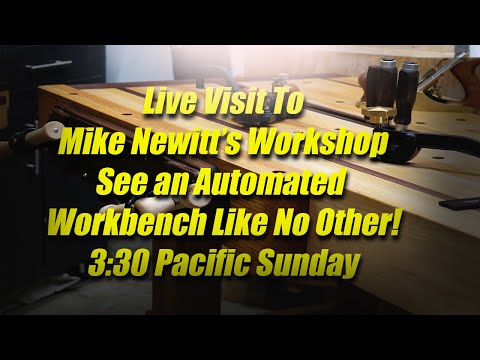 A Visit To Mike Newitt's Workshop In British Columbia Canada